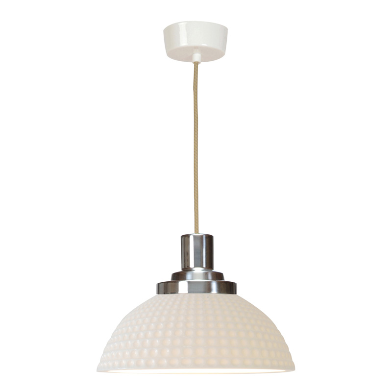 Bone China Pendants: Classic Lighting For Your Home