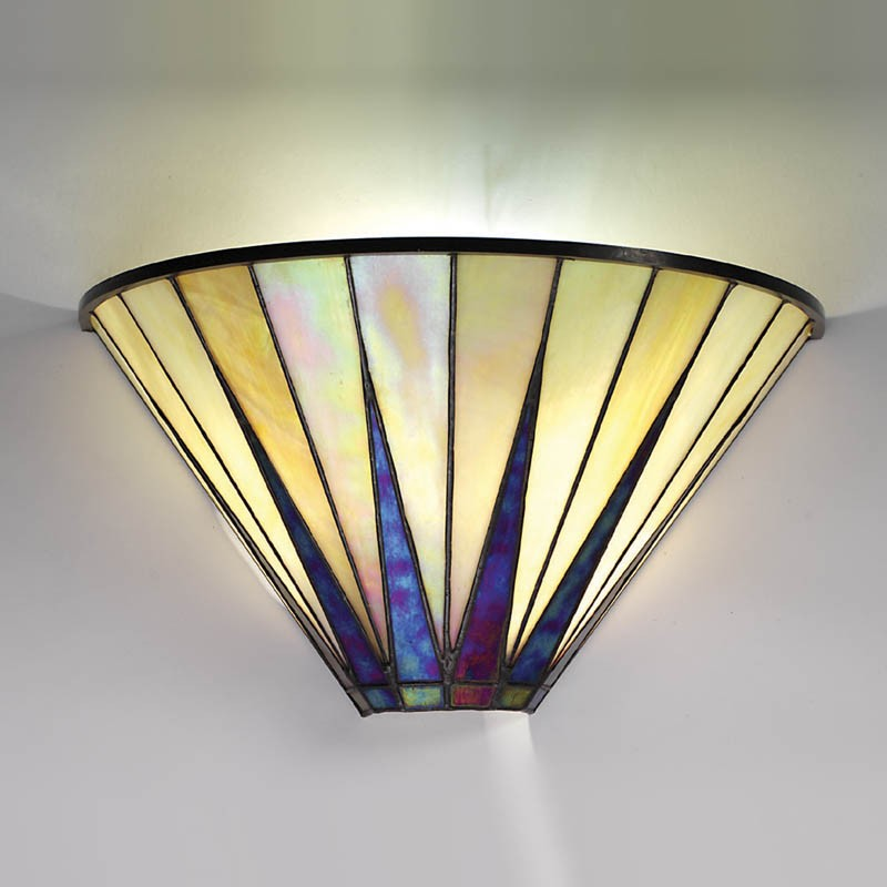 Art deco wall lights available from angelo 39 s in north for Art deco style lamp